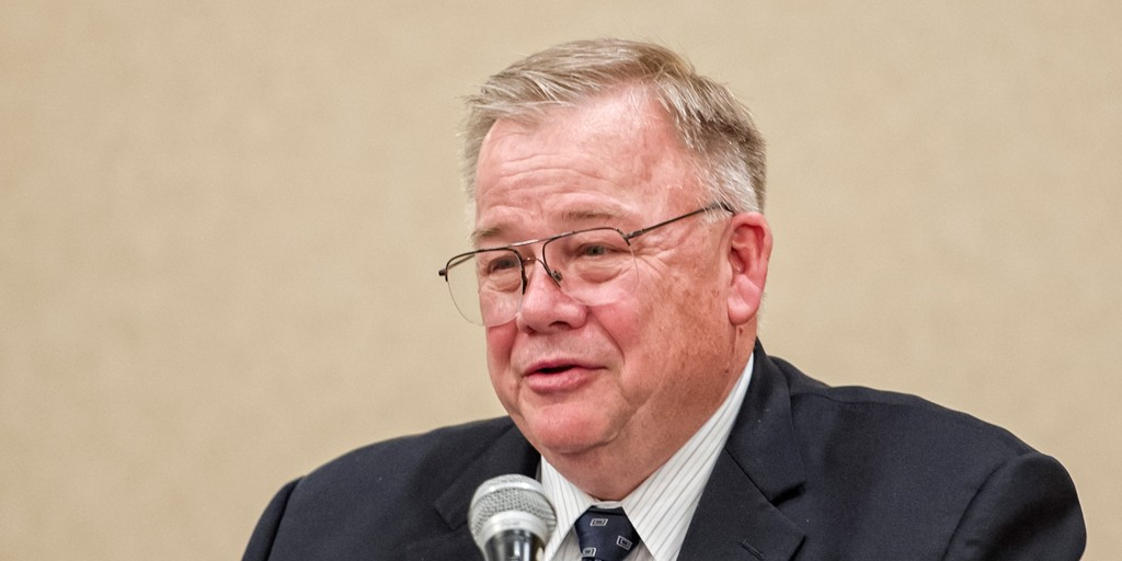Larry Mitchell, administrator for the USDA Grain Inspection, Packers and Stockyards Administration (GIPSA),.