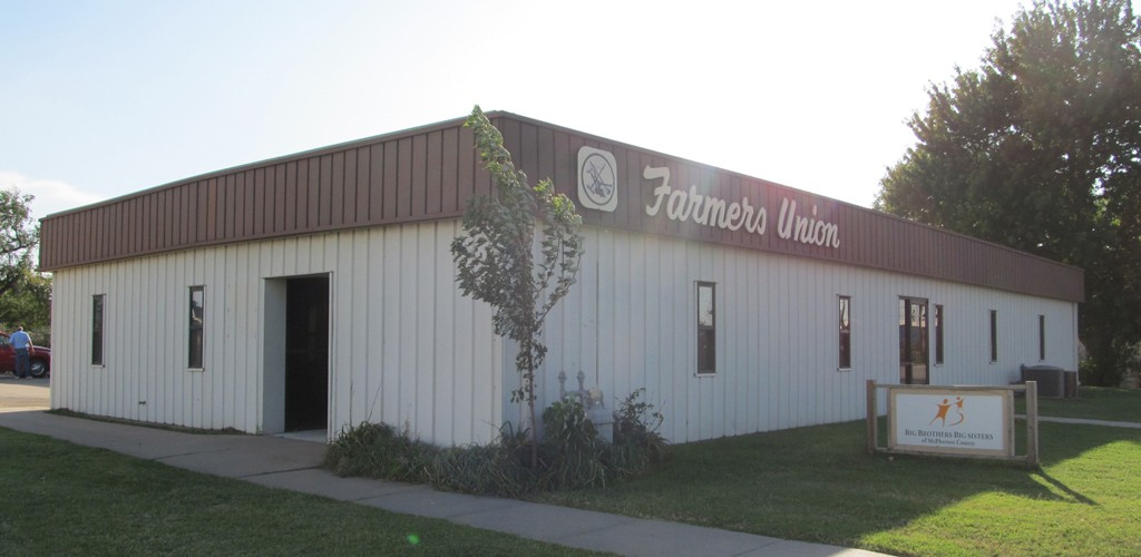 Kansas Farmers Union office building.