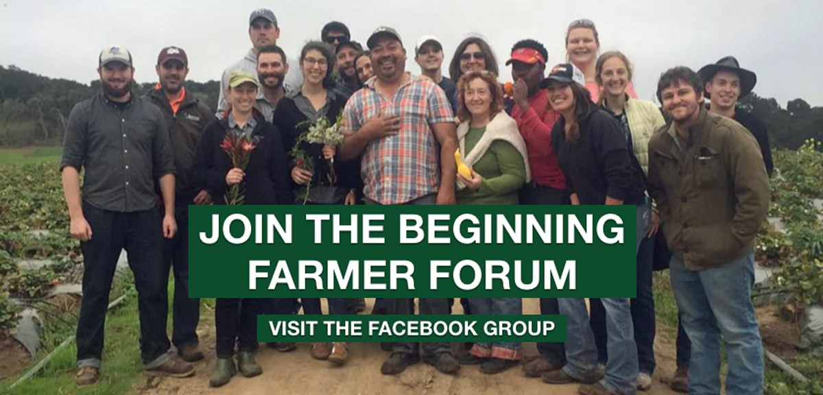 Beginning Farmer Opportunities with National Farmers Union