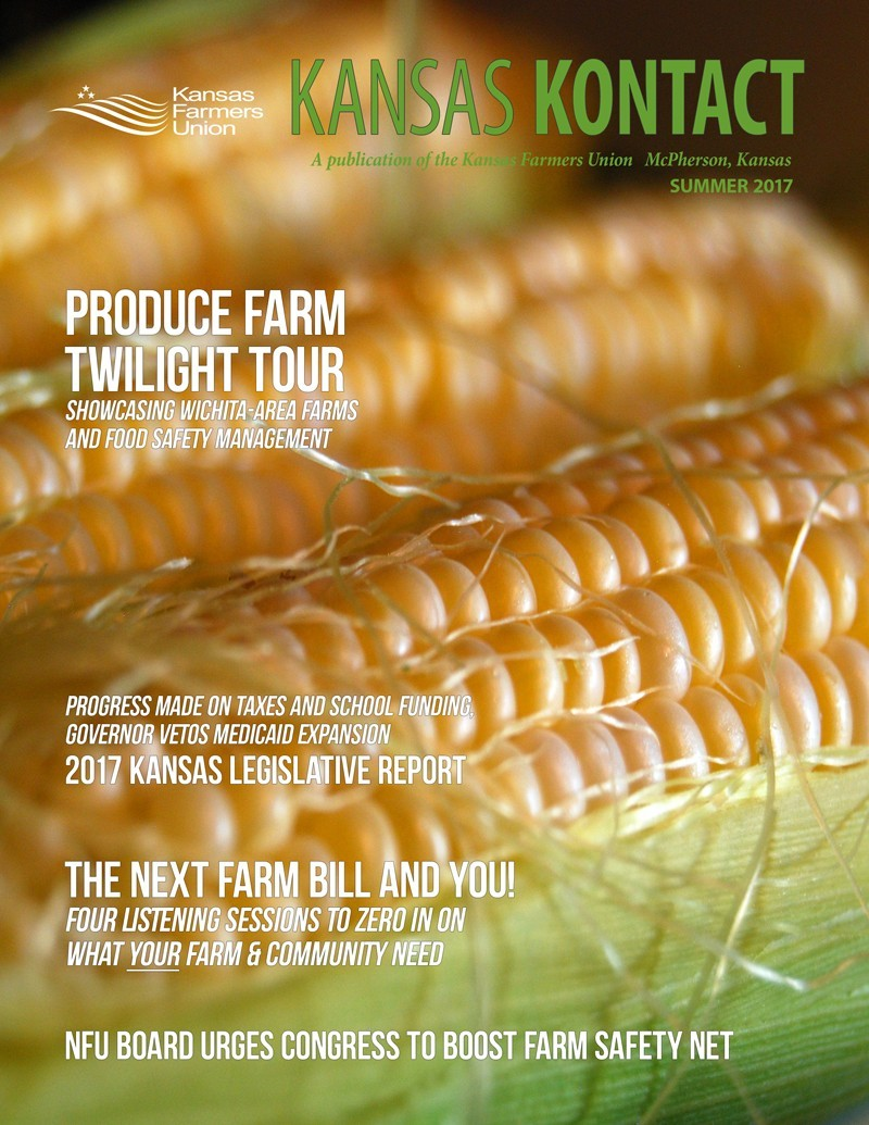 Kansas KONTACT Summer 2017 Cover