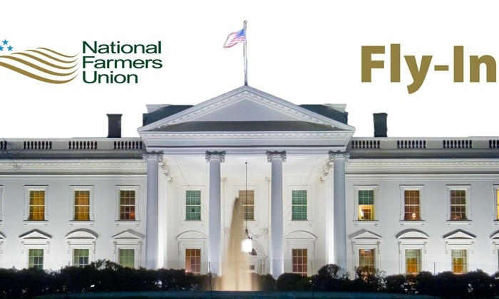 National Farmers Union Fly-In Banner