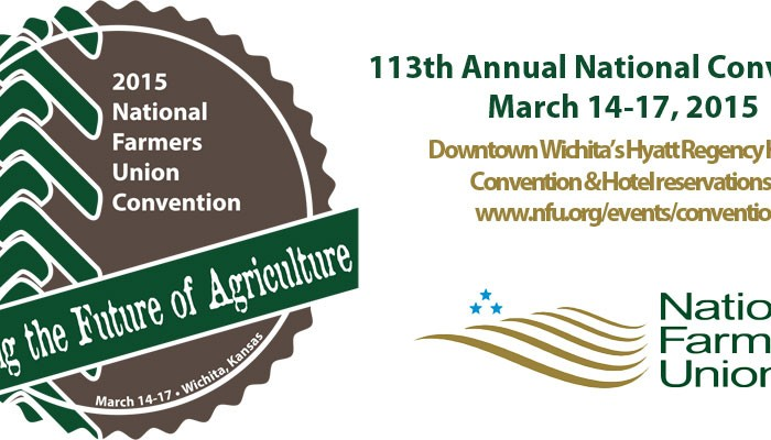 2015 National Farmers Union Convention logo and details