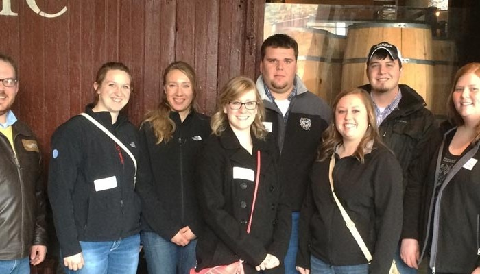 Kansas students attending the 2015 College Conference on Cooperatives