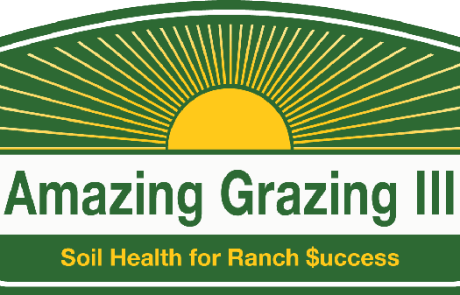 Amazing Grazing III: Soil Health for Ranch $uccess logo