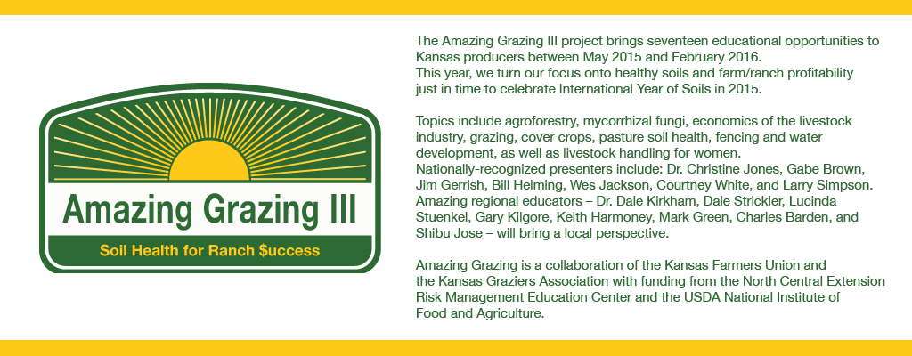 Amazing Grazing 3 logo and project description