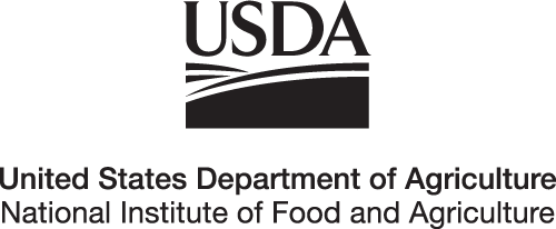 USDA NIFA Logo black and white