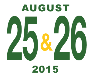 August 25-26, 2015