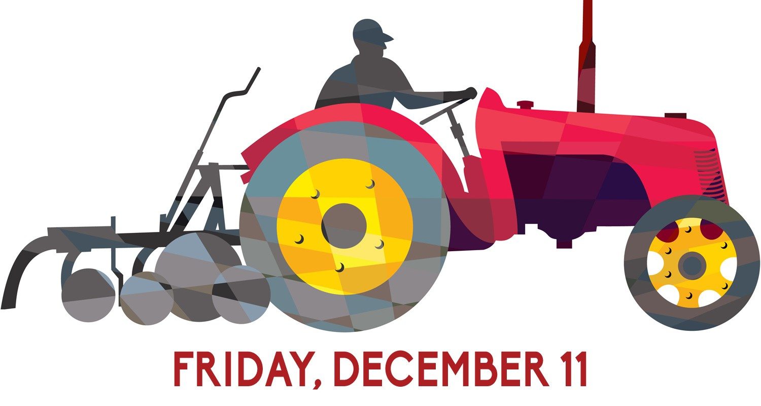 Tractor logo for Friday