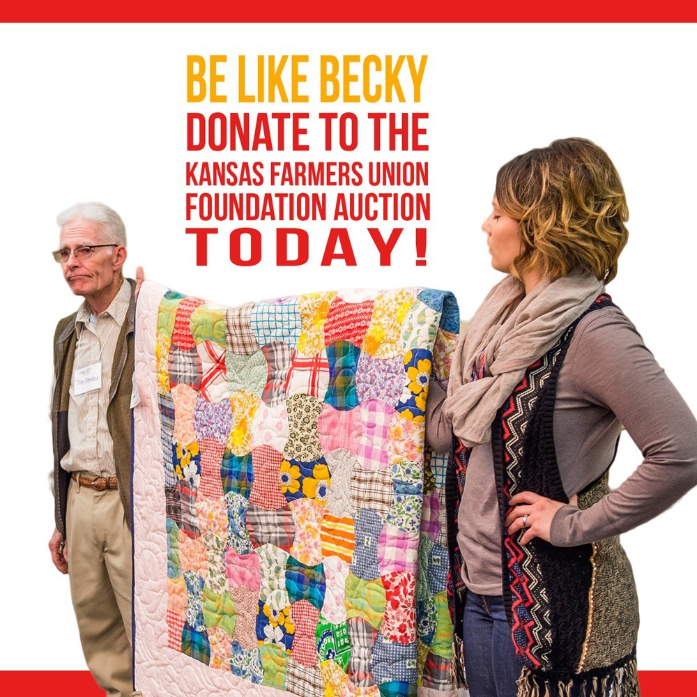 Be like Becky 2015 KFUF Auction Promo