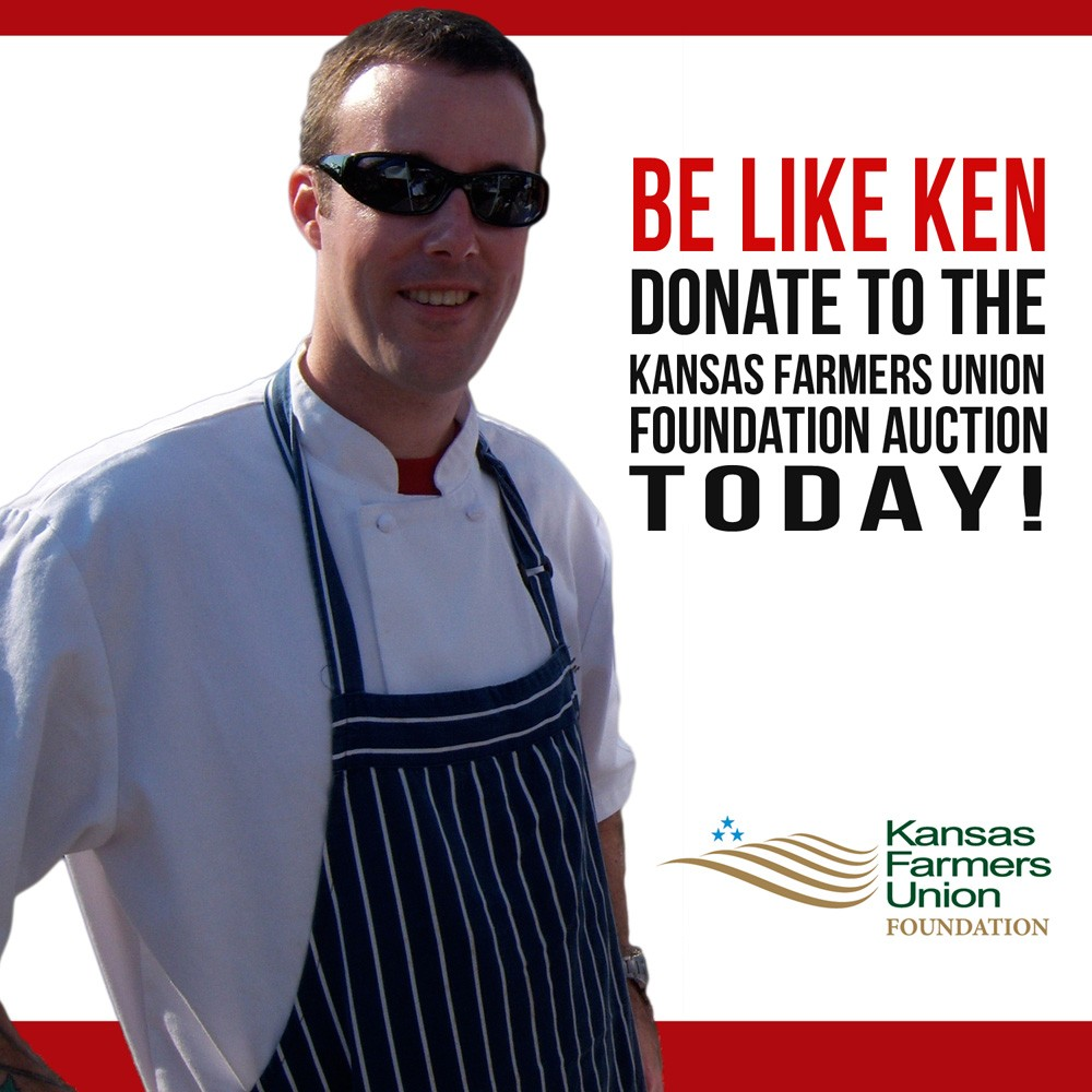 Be like Ken 2015 KFUF Auction Promo