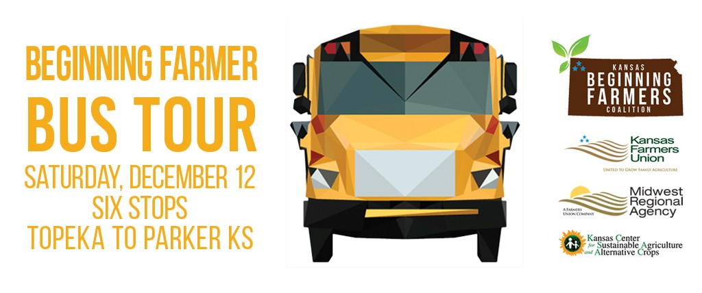 Kansas Beginning Farmers Coalition Bus Tour