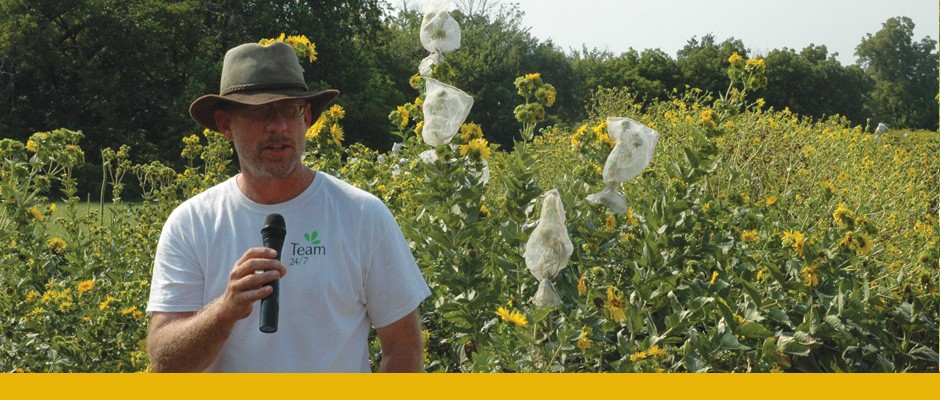 Investing in health of soil vital to future of farming kfu for Soil tour dates 2015