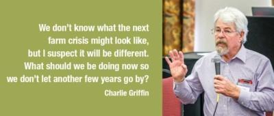 Farm Crisis Panel Quote by Charlie Griffin