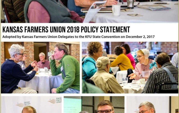 2018 Kansas Farmers Union State Policy
