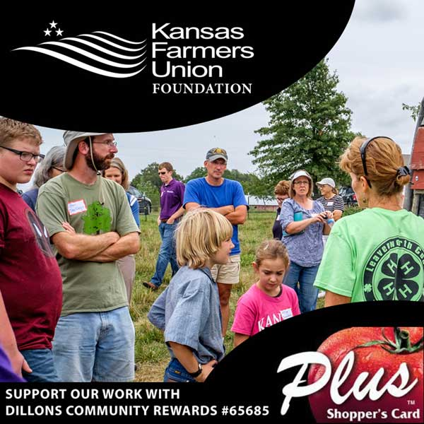 Support Kansas Farmers Union Foundation with Dillons Community Rewards #65685