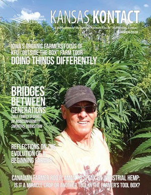 KANSAS KONTACT Summer 2018 featuring Canadian farm Rod Flaman