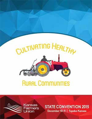 2015 Convention Cover: Cultivating Health Rural Communities