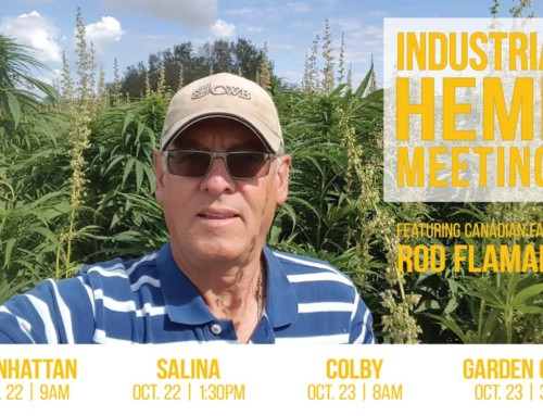 Industrial Hemp Focus of Statewide Meeting Series October 22-23