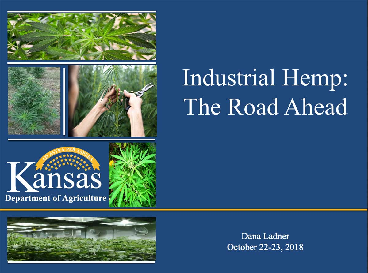 KDA PowerPoint: Industrial Hemp: The Road Ahead