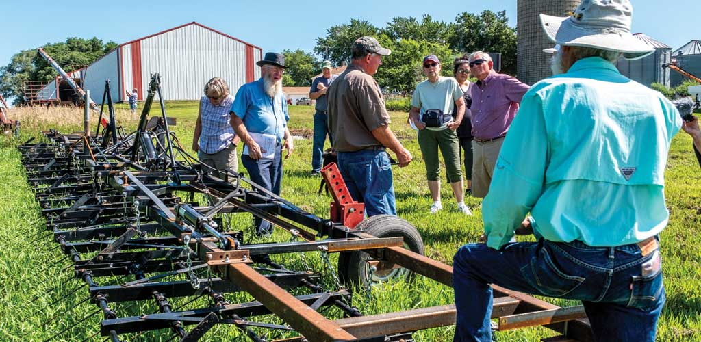 At Nees Family Farm, health concerns led to organic & eventually profitability