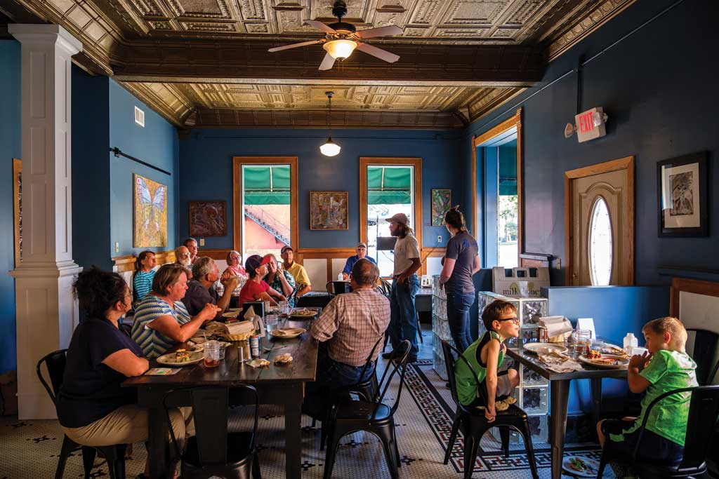 Outside the Box: Milk & Honey Restaurant, Harlan Iowa