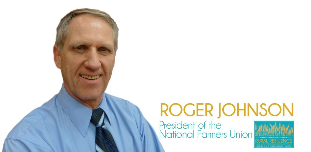 2018 Kansas Farmers Union State Convention Roger Johnson