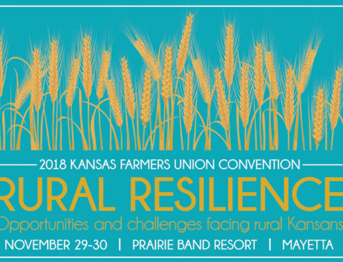2018 Kansas Farmers Union State Convention to Highlight Opportunities to Enhance Rural Resilience