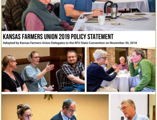 2019 Kansas Farmers Union Policy
