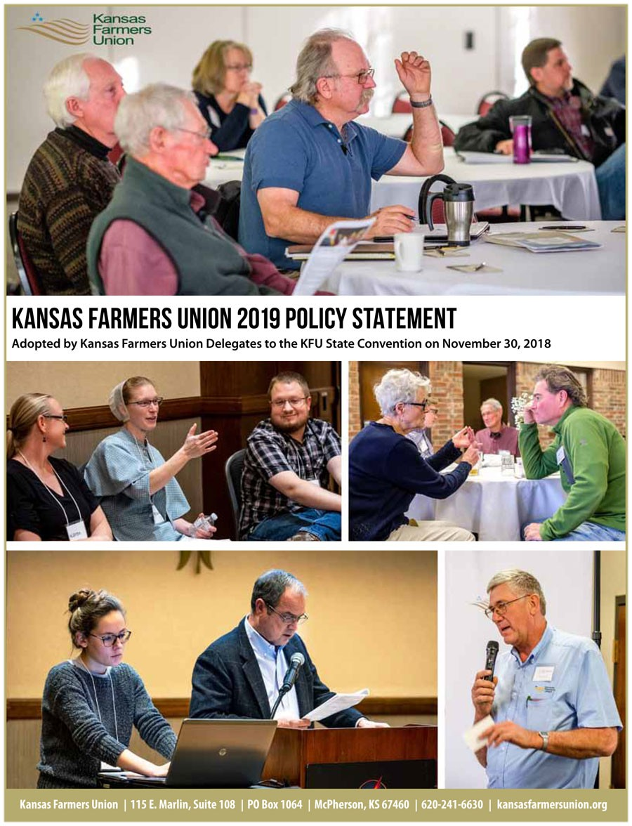 2019 KFU Policy Statement