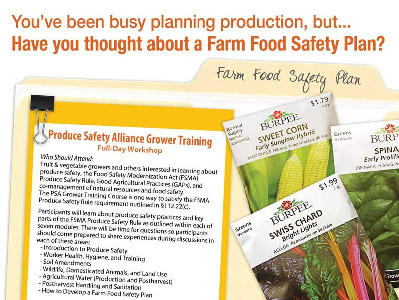 PRODUCE SAFETY ALLIANCE GROWER TRAINING: Wichita