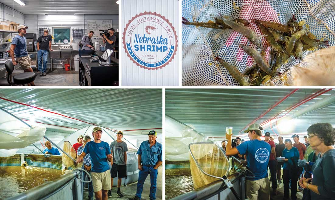 Outside the Box Tour: Nebraska Shrimp Company
