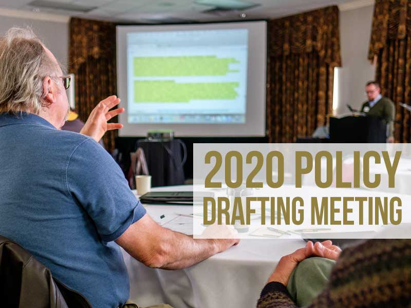 2020 Policy Drafting Meeting
