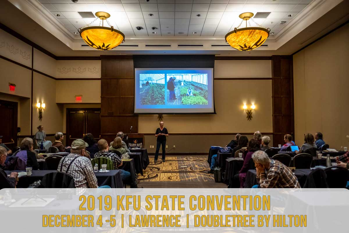 2019 KFU State Convention DECEMBER 4 -5 | Lawrence | Doubletree By Hilton