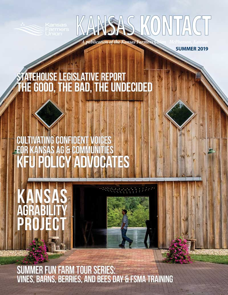 Cover of the Kontact Summer 2019 Barn