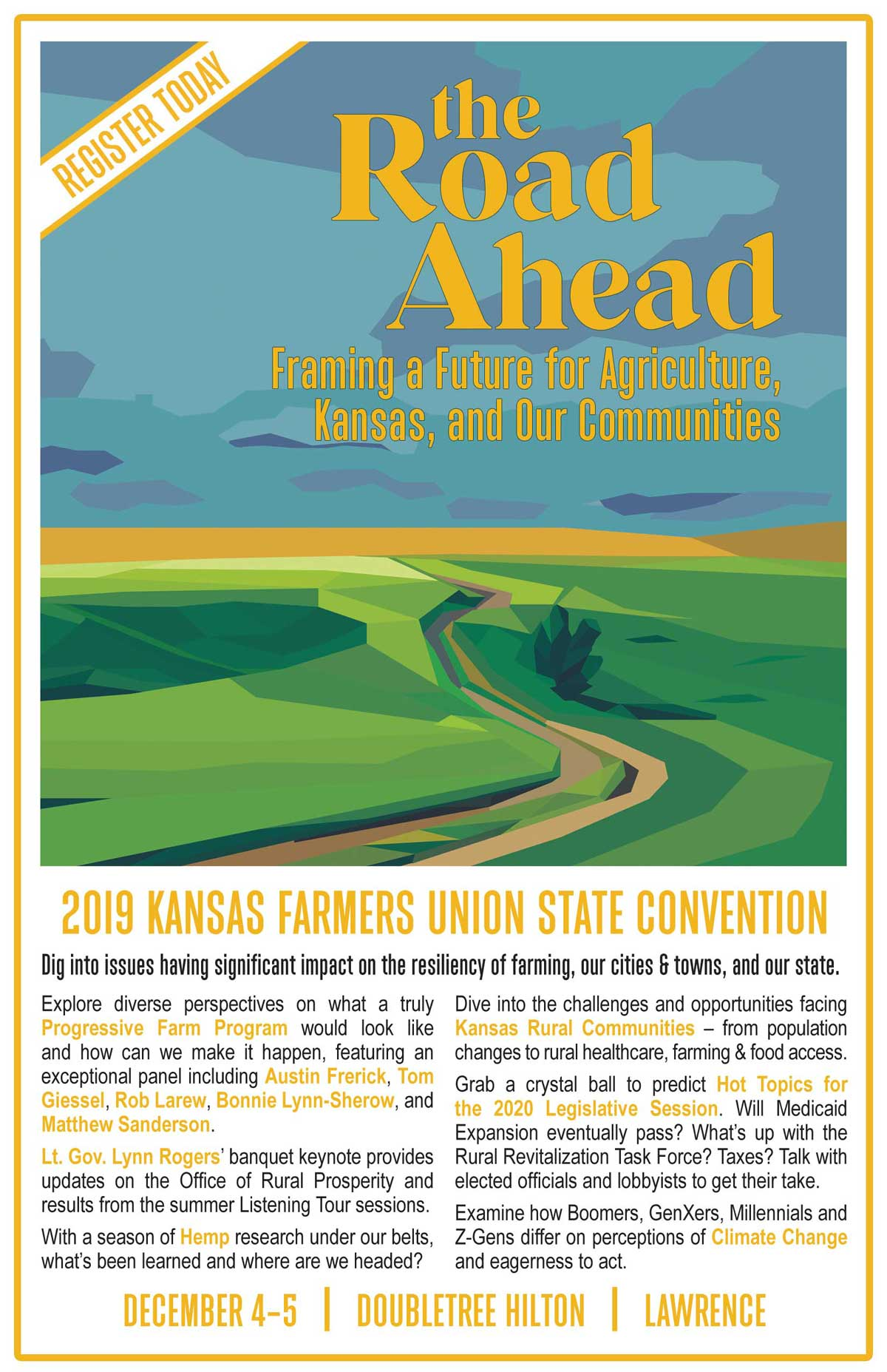 2019 KFU State Convention Postcard