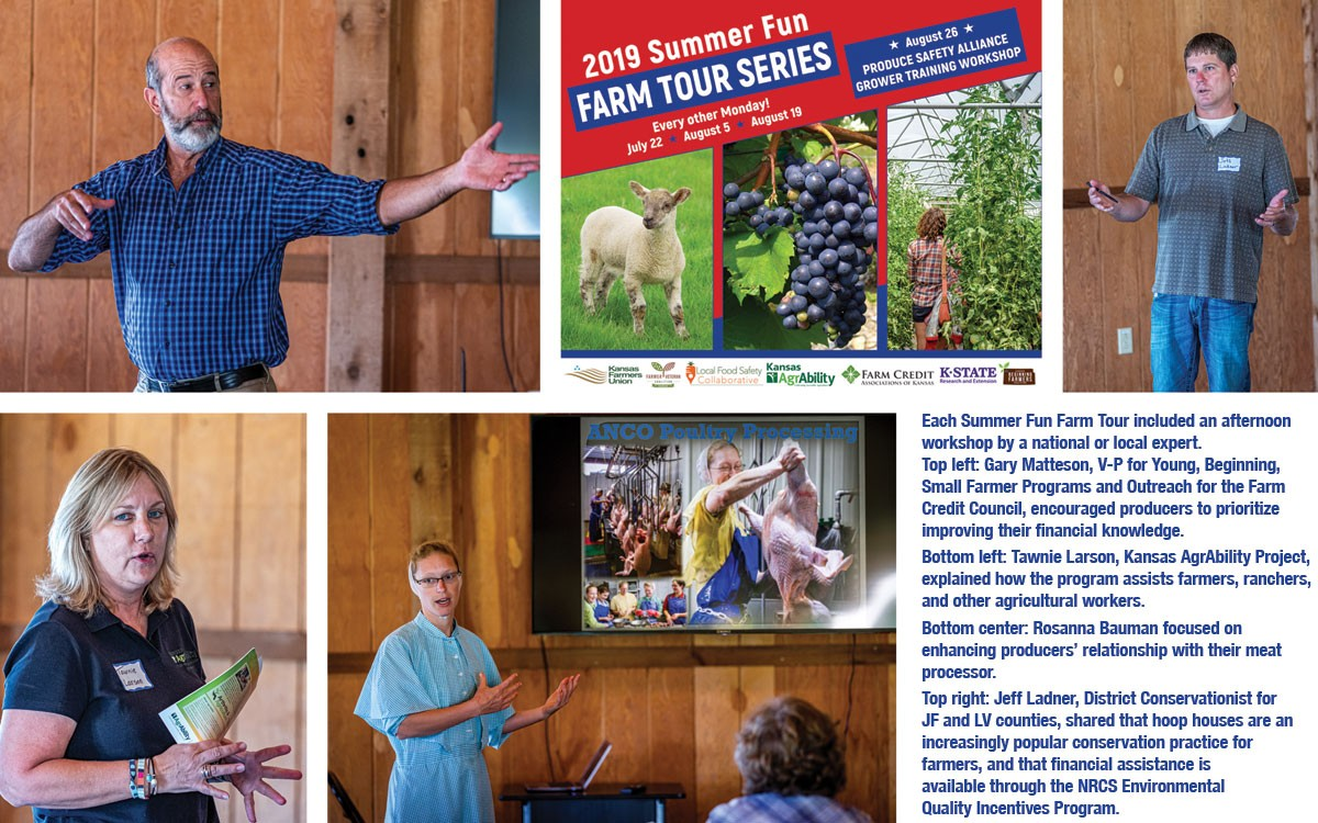 Summer Fun Farm Tour Speakers 2019