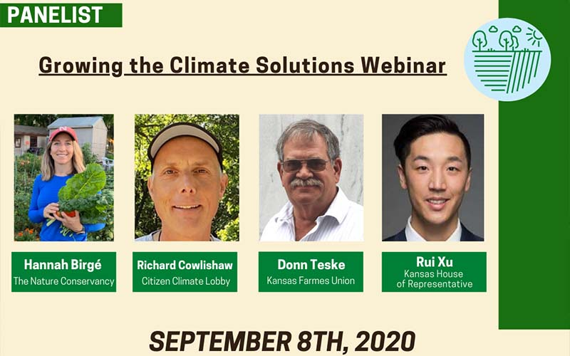 Growing the Climate Solutions Act Webinar