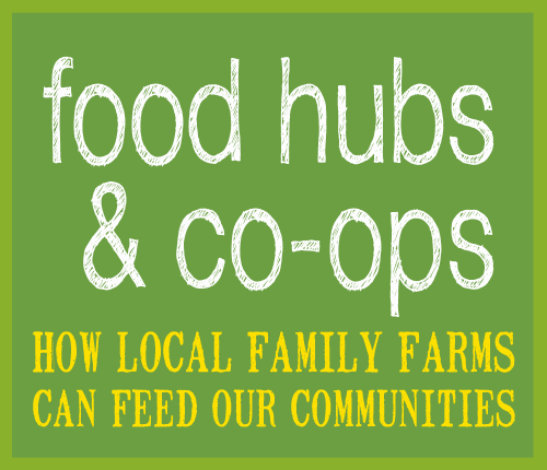 Food Hub and Co-ops page link