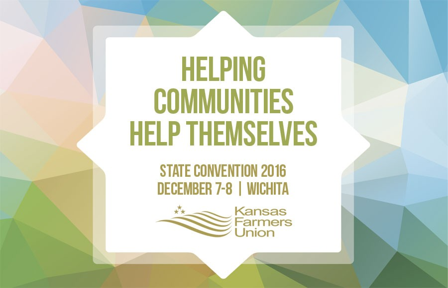 Helping Communities Help Themselves, 2016 KFU State Convention, Dec. 7-8 in Wichita