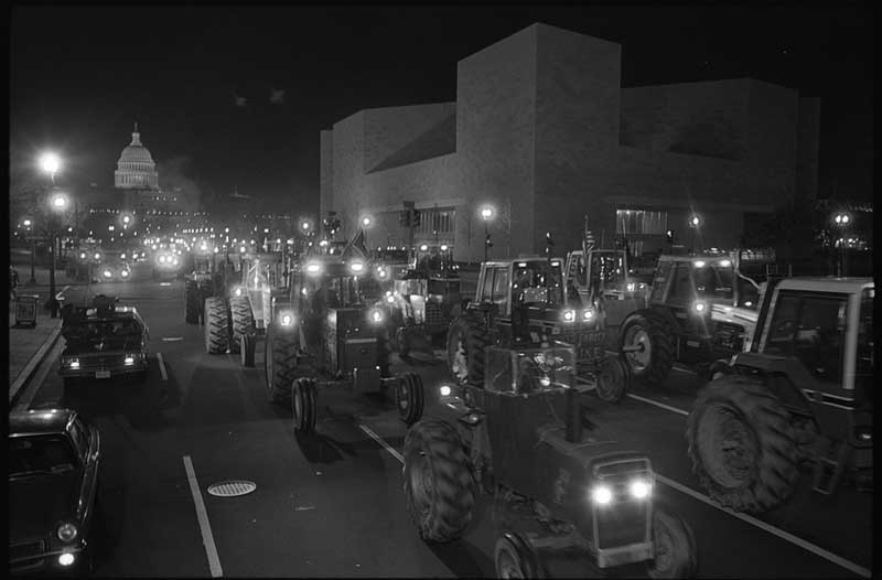 1979 Tractorcade in nation's capitol