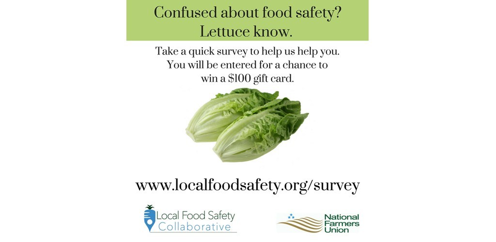 NFUF Launching Needs Assessment Survey to Inform Food Safety