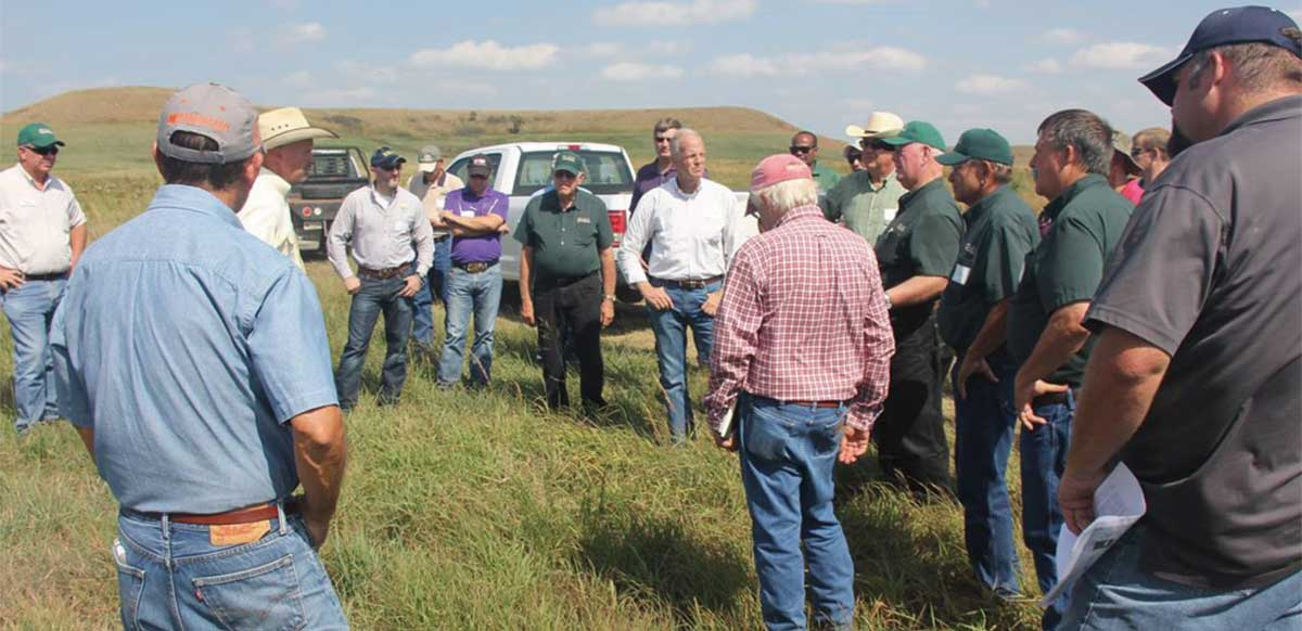 Kansas Farmers Union Participates in Senator Moran's Conservation Tour