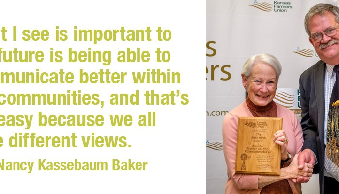 Senator Nancy Kassebaum Baker quote one
