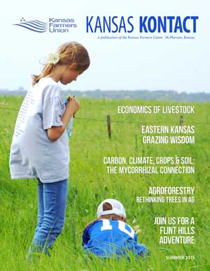 Kansas KONTACT Summer 2015 Cover