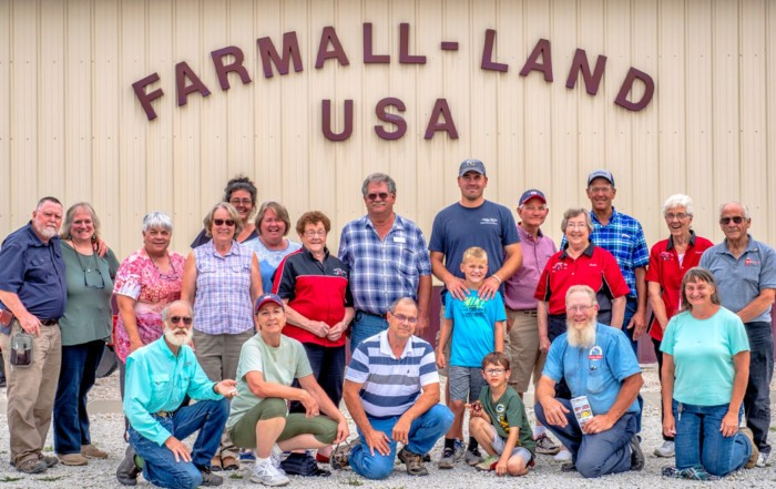 Participants in the Thinking Outside the Box Iowa Farms Tour