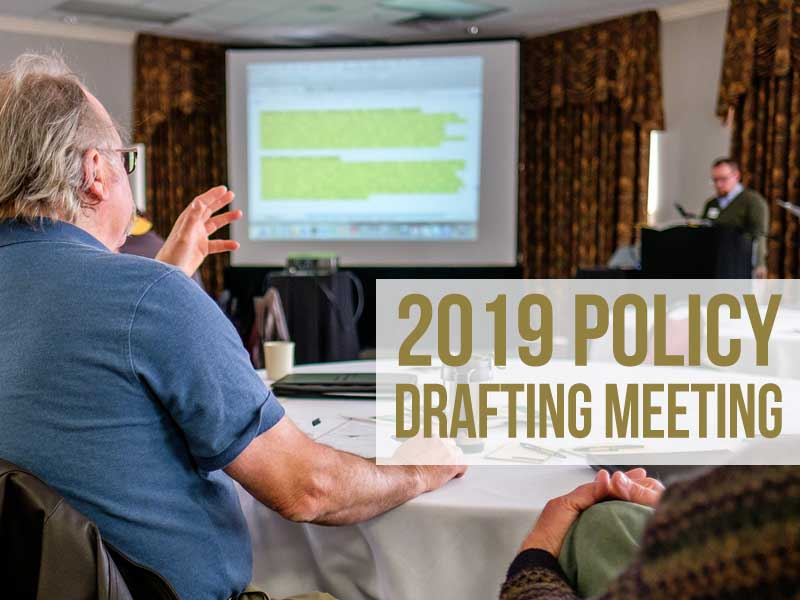 2019 Policy Drafting Meeting
