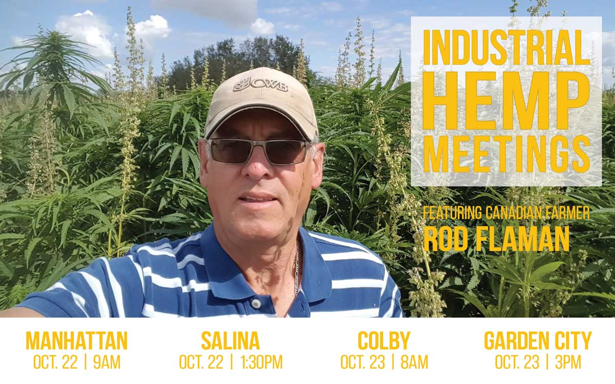 Industrial Hemp Meetings Scheduled