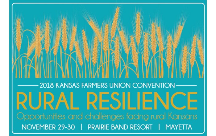 2018 Kansas Farmers Union State Convention Logo