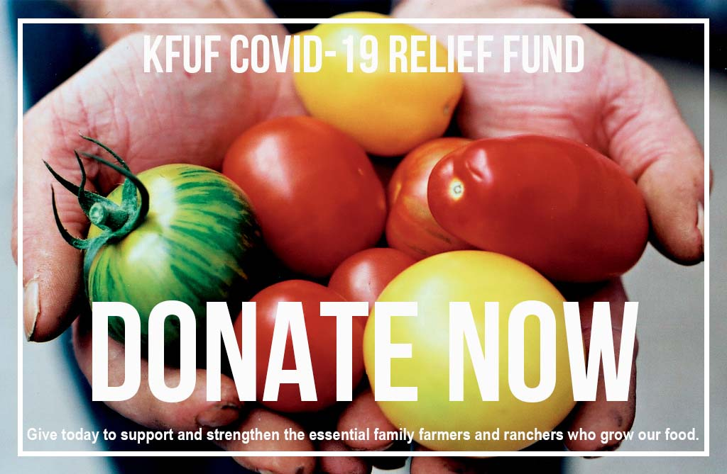 Donate KFUF COVID-19 Relief Fund